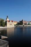 Praha - Prague, the capital city of the Czech Republic.  Royalty Free Stock Image