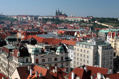 Praha - Prague, Castle in the capital city of the Czech Republic. Praha - Prague, the capital city of the Czech Republic Stock Photo