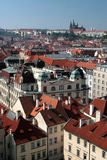 Praha - Prague, castle in the capital city of the Czech Republic Royalty Free Stock Photo