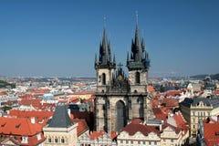 Praha - Prague, la capitale de la République Tchèque Photo libre de droits