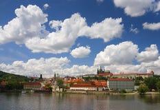 Praha - slott 02 Arkivbild