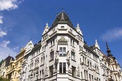 Praha stad/byggnader Royaltyfri Fotografi