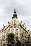 Praha stad/byggnader Fotografering för Bildbyråer