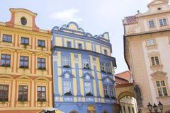 Praha stad/byggnader Royaltyfria Foton