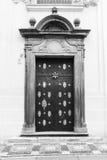 Praha stad/dörr Royaltyfri Foto