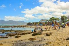 Praia África do Sul de Muizenberg Imagens de Stock