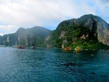 Praia Ásia de Tailândia foto de stock
