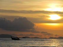 Praia Ásia de Tailândia imagem de stock