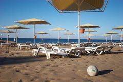 Praia 02 do mar Foto de Stock Royalty Free