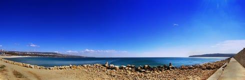 Praia 1 do panorama Imagem de Stock Royalty Free