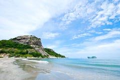 A praia Foto de Stock Royalty Free