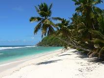 Praia 22 do mar de Seychelles fotos de stock royalty free