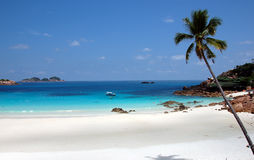 Praia 3 de Pulau Redand Foto de Stock Royalty Free