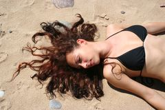 Praia Fotos de Stock