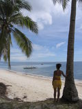 A praia 4 Fotos de Stock Royalty Free
