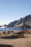 Praia 95 em Dahab Egipto Foto de Stock