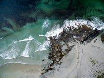 Praia aérea Foto de Stock Royalty Free