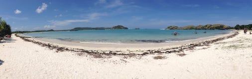 Praia aan de Tanjung Foto de Stock Royalty Free