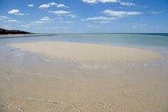 Praia abandonada Imagem de Stock