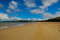 Praia abandonada, cabeça de Faraid Fotos de Stock