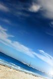 Praia abstrata Foto de Stock Royalty Free