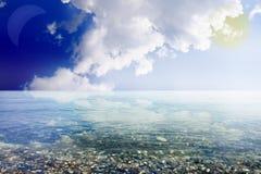 Praia abstrata Imagem de Stock Royalty Free