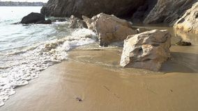A praia acena 4K filme