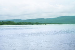 Praia agradável de Bai Sao, Phu Quoc Imagens de Stock Royalty Free