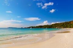 Praia Anse Lazio - Seychelles Fotos de Stock