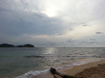 Praia apenas Foto de Stock Royalty Free