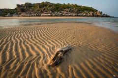Praia arborizado do leste, Território do Norte, Austrália foto de stock