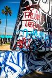 Praia Art Paint de Veneza imagem de stock royalty free