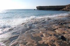 Praia atlântica Imagens de Stock
