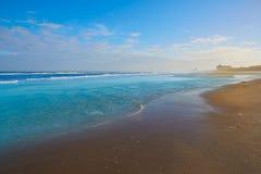 Praia atlântica em Jacksonville de florida EUA Imagem de Stock