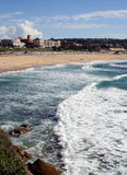 Praia Austrália de Bondi Imagem de Stock