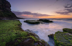 Praia Austrália de Bungan Fotos de Stock Royalty Free
