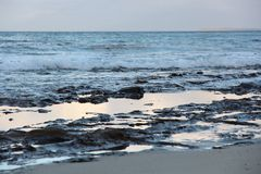 Praia Austrália de Jervis Bay Foto de Stock Royalty Free