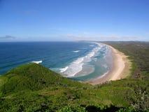 Praia australiana Fotografia de Stock