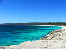 Praia australiana foto de stock royalty free