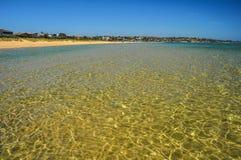 A praia australiana Imagens de Stock Royalty Free