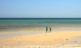 A praia australiana Imagens de Stock