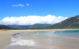 Praia australiana do oceano Imagem de Stock Royalty Free