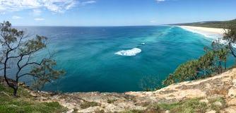 Praia australiana do verão imagens de stock royalty free