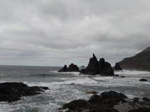 praia Beniho-selvagem Imagens de Stock Royalty Free