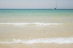 Praia bonita Fotografia de Stock Royalty Free
