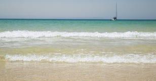 Praia bonita Imagem de Stock
