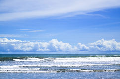 Praia bonita Imagens de Stock