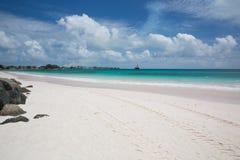 Praia bonita Barbados fotos de stock