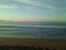Praia bonita de Melaque foto de stock