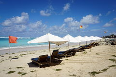 Praia bonita de Pandawa na ilha de Bali em Indonésia Imagem de Stock